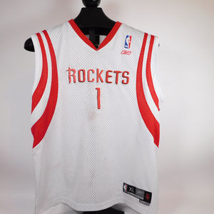 NBA Jersey Rockets #1 McGrady XL CL1988 1019